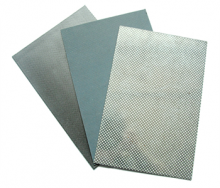 Reinforced asbestos composite sheet