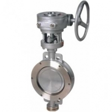 Wafer type stainless steel butterfly valve