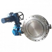 Electric actuator stainless steel butterfly valve