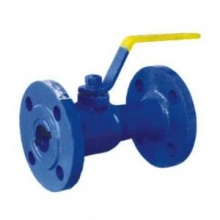Integral type high temperature ball valve