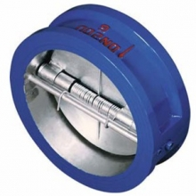 Double discs wafer check valve